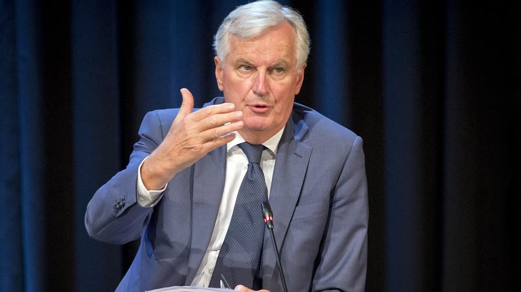 Optimistic: Michel Barnier PIC: AP
