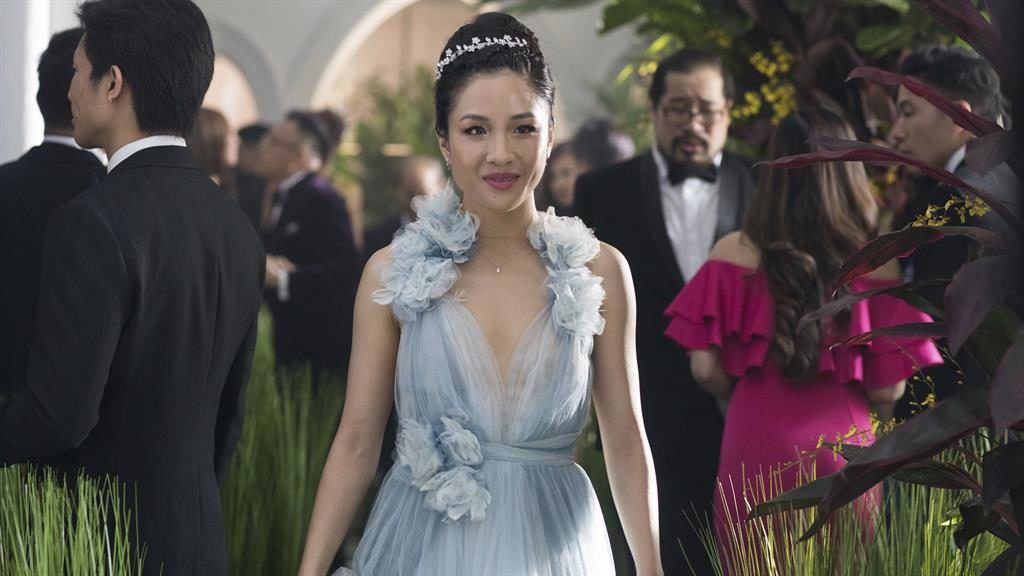 Wealth divide: Constance Wu is the New York gal out of water in the super-rich Far East
