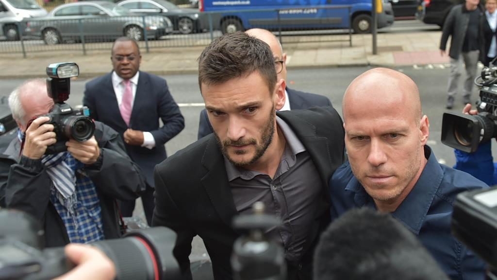 World Cup victor  Lloris 'completely drunk' at wheel