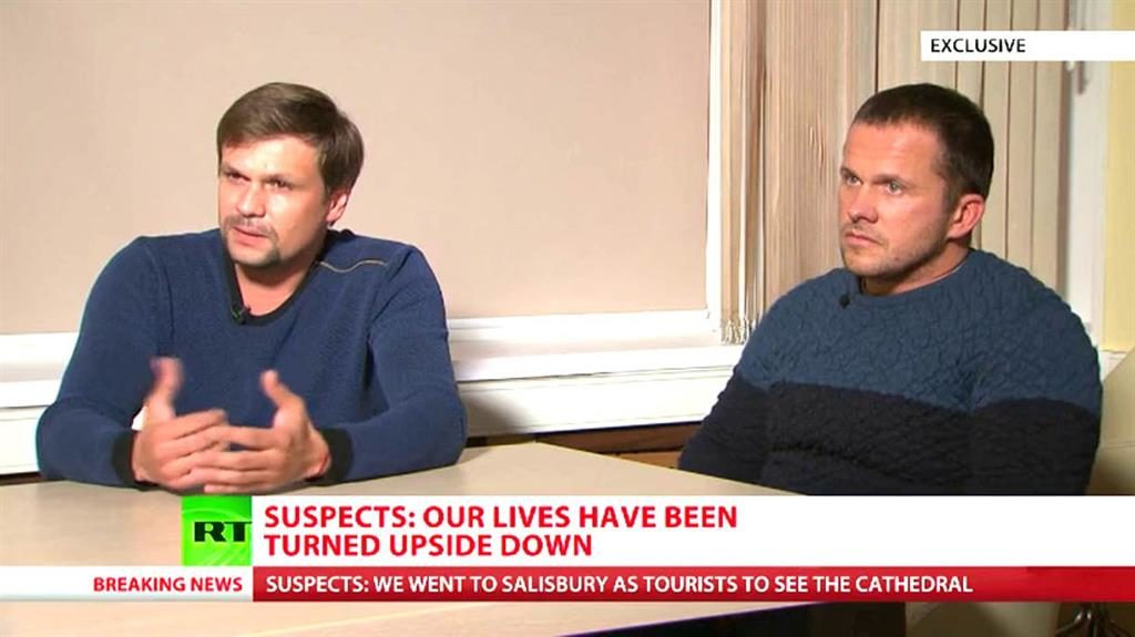 Russians accused by United Kingdom  'victims of coincidence'