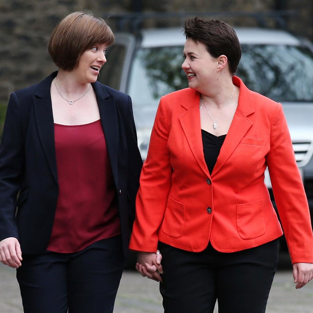 Ruth Davidson rules out Tory leader role