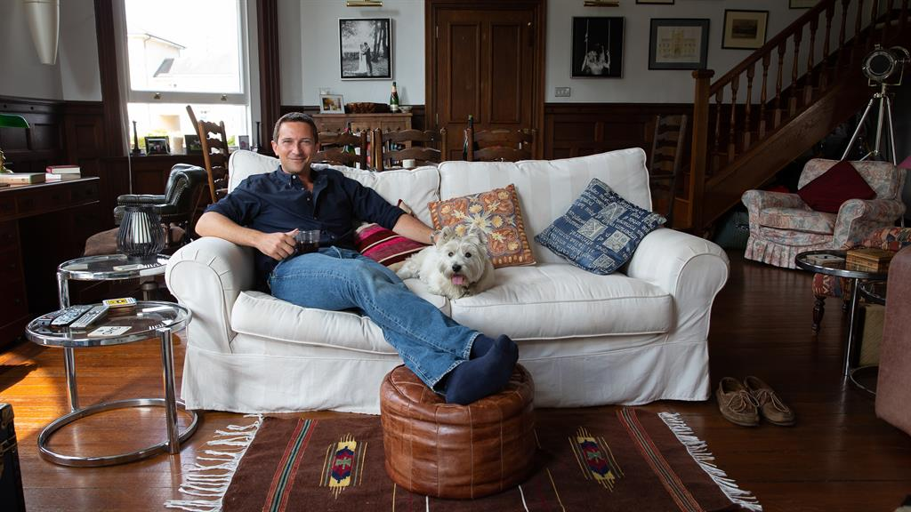Home: TV historian Michael Scott's place tells the story of his