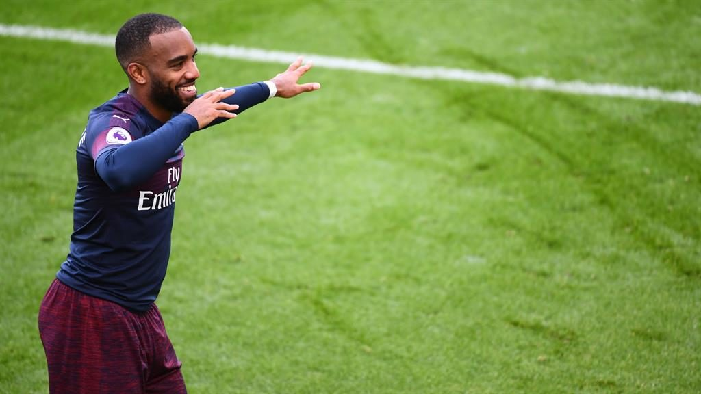 Alexandre Lacazette plays down Arsenal title hopes			 				     by Gavin Brown    Published