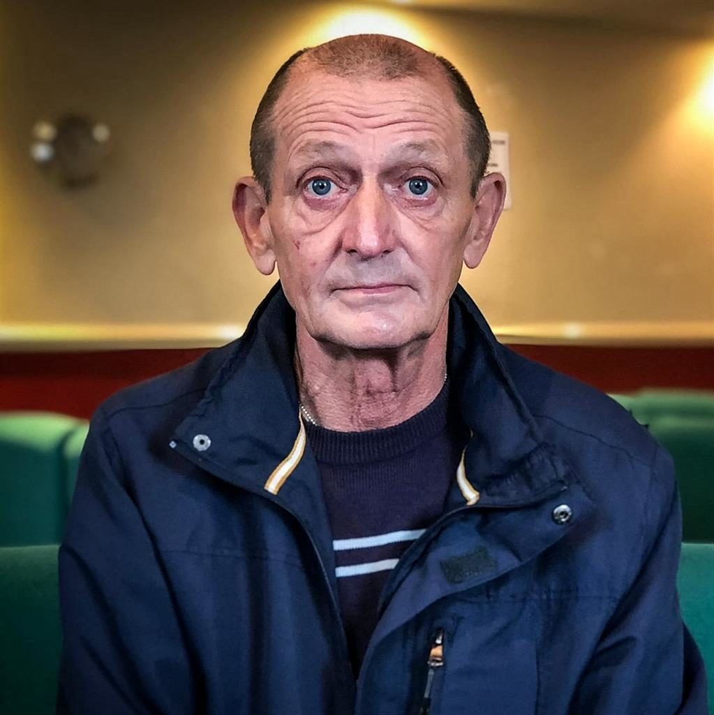 'Life is precious': Former train driver Dave Goodwin PIC: PLYMOUTH HERALD/SWNS