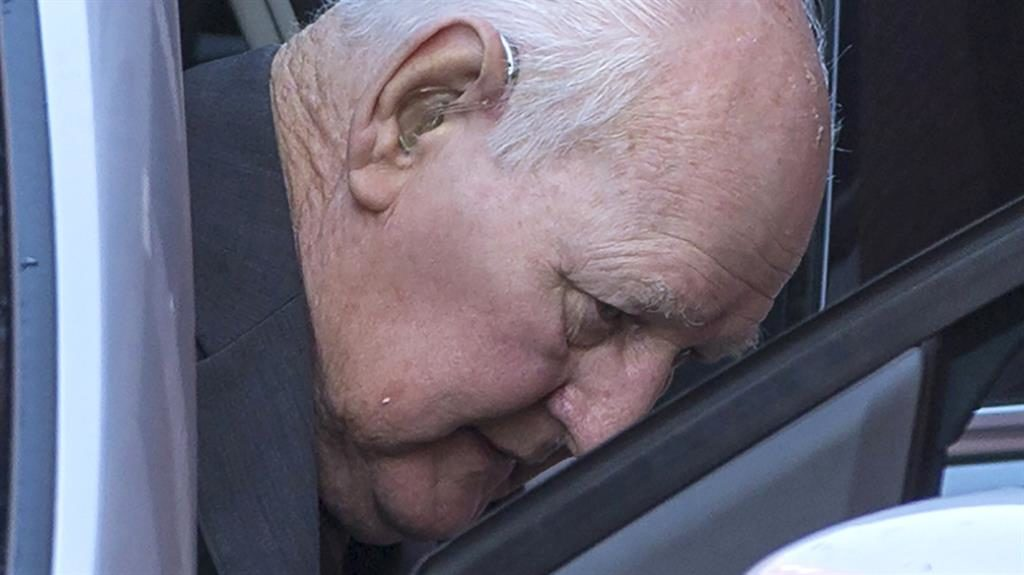Accused: Ex cop David Lomax PIC: LNP