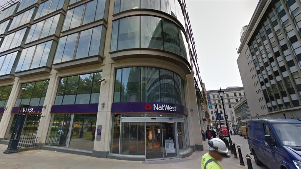 Fun and games: NatWest in Temple Row Birmingham