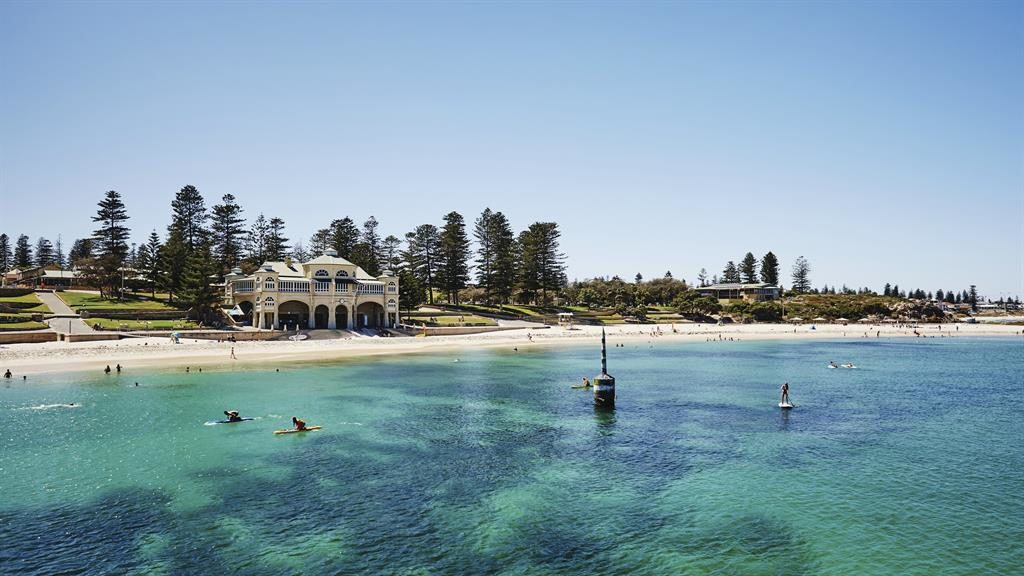 Fond memories: Cottesloe Beach in Perth