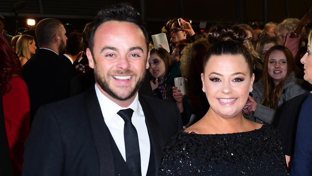 I'm an adulterer... Get me out of here! Ant and Lisa in happier times PICTURE: PA