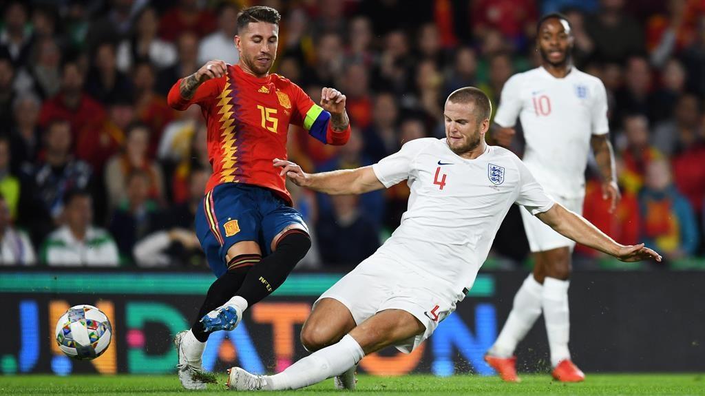 Sterling scores twice as England stun Spain