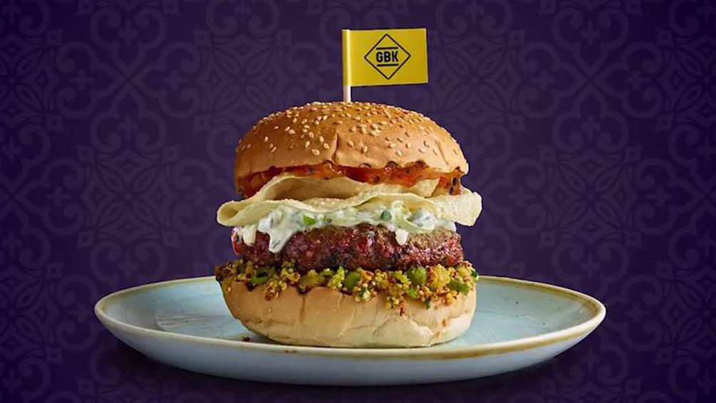 Not currying favour: Gourmet Burger Kitchen's Ruby Murray