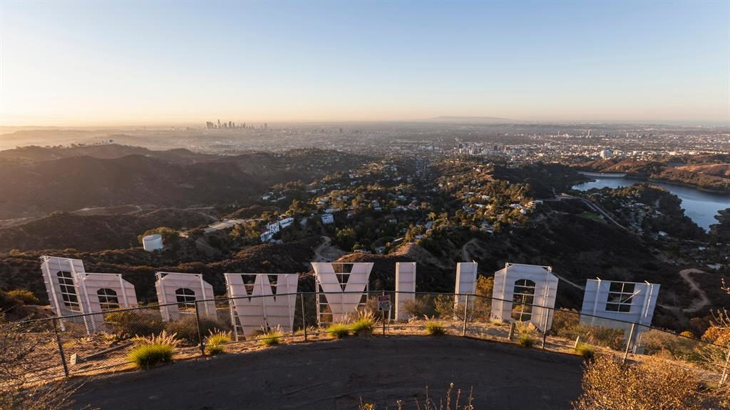 LA highs: The Hollywood sign on the Wonder View Trail