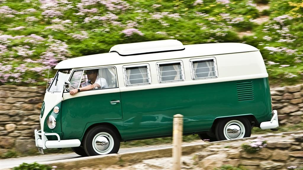 One for the road: VW camper van PICTURE: ALAMY
