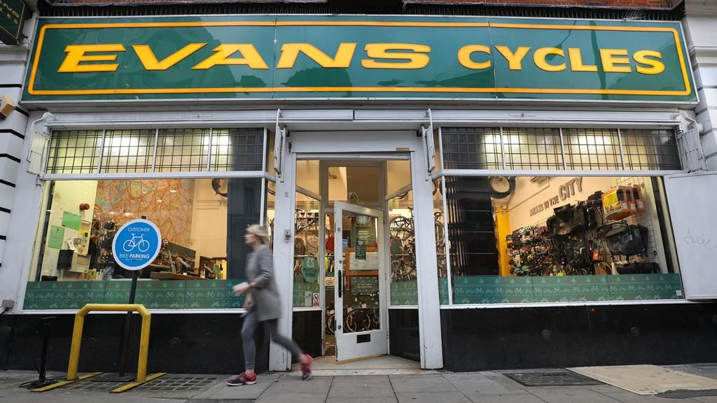 Sports Direct to shut Evans Cycles stores in rescue deal