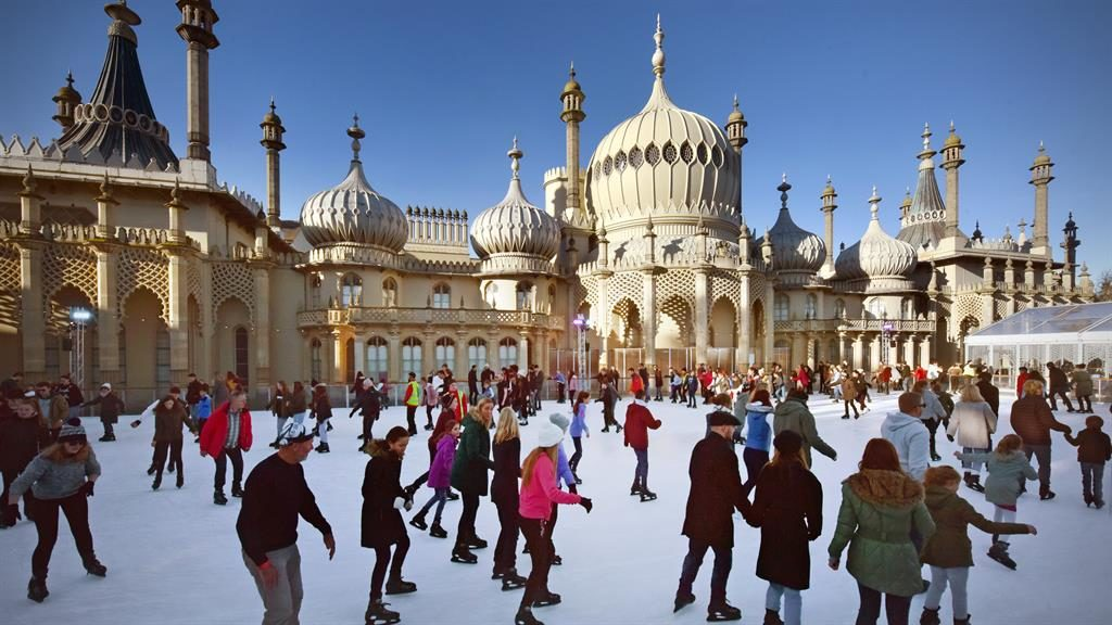 Nice, ice baby: Brighton's Royal Pavilion