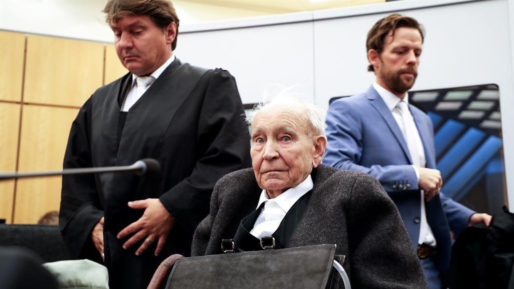 Denials: Johann Rehbogen in court PICTURE: EPA