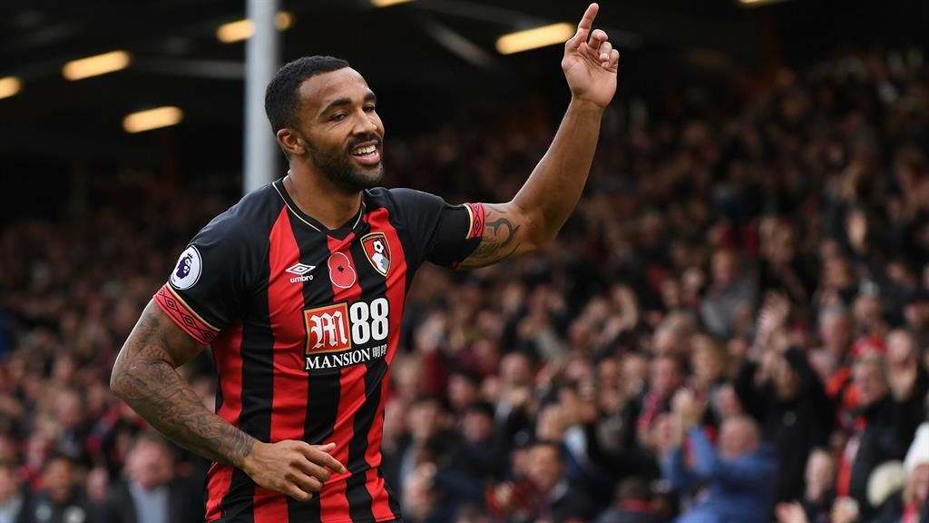 Sharp shooter: Callum Wilson has received an England call PICTURE: REX