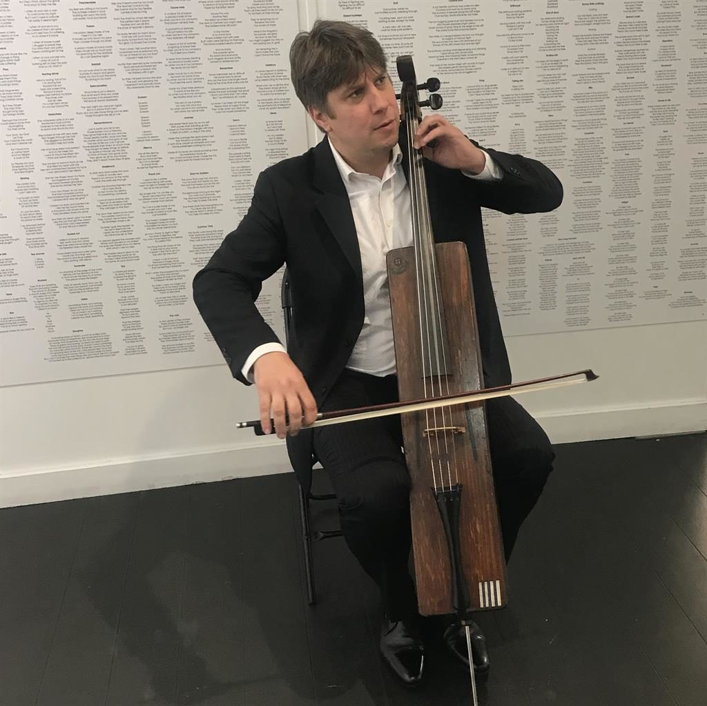 Cello: It was played to the troops