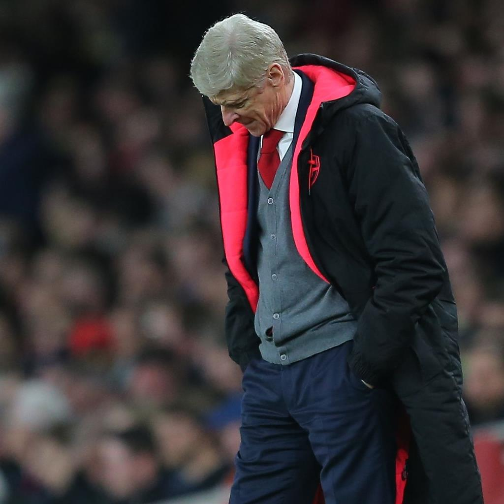 End of an era: Wenger left Arsenal a year before his contract was due to expire