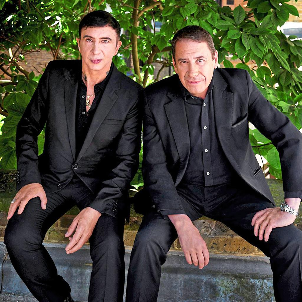 Suited: Marc and Jools have a mutual musical admiration