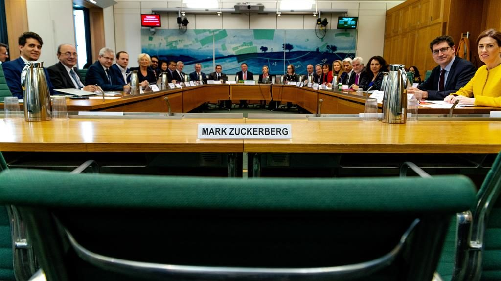 Global lawmakers grill Facebook exec in United Kingdom parliament