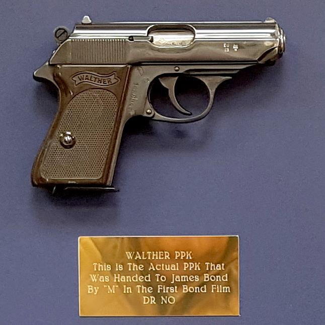 Piece of history: The Walther PPK