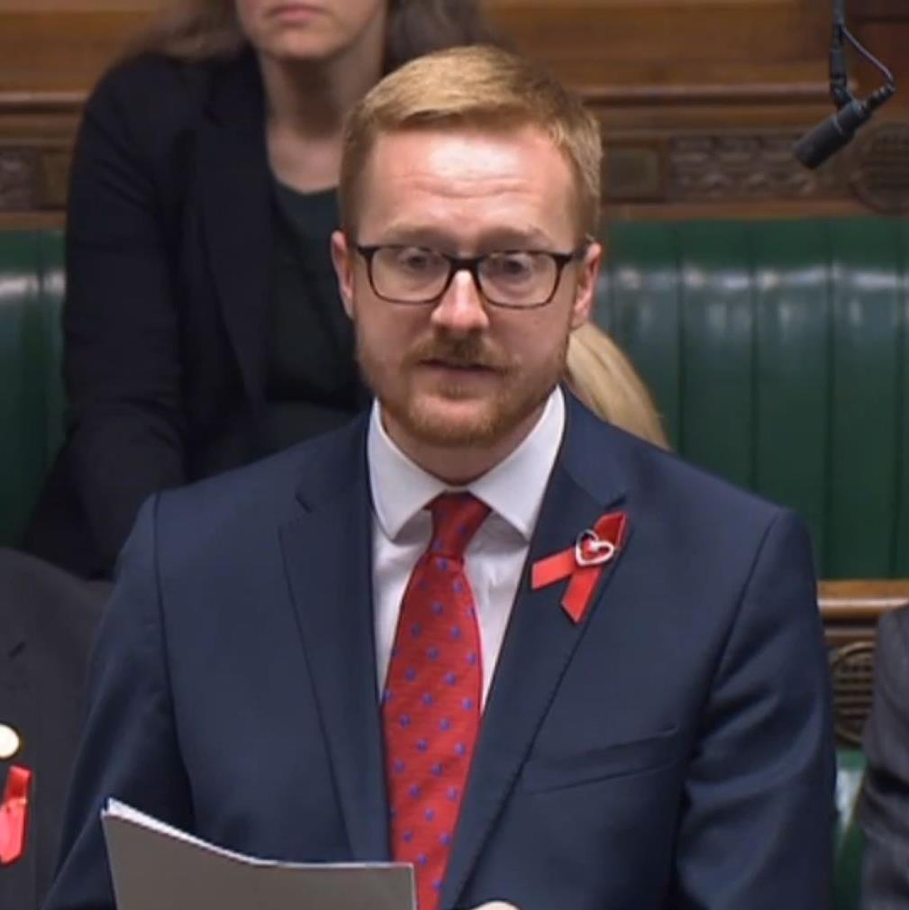 Lloyd Russell-Moyle: MP tells the Commons he has HIV