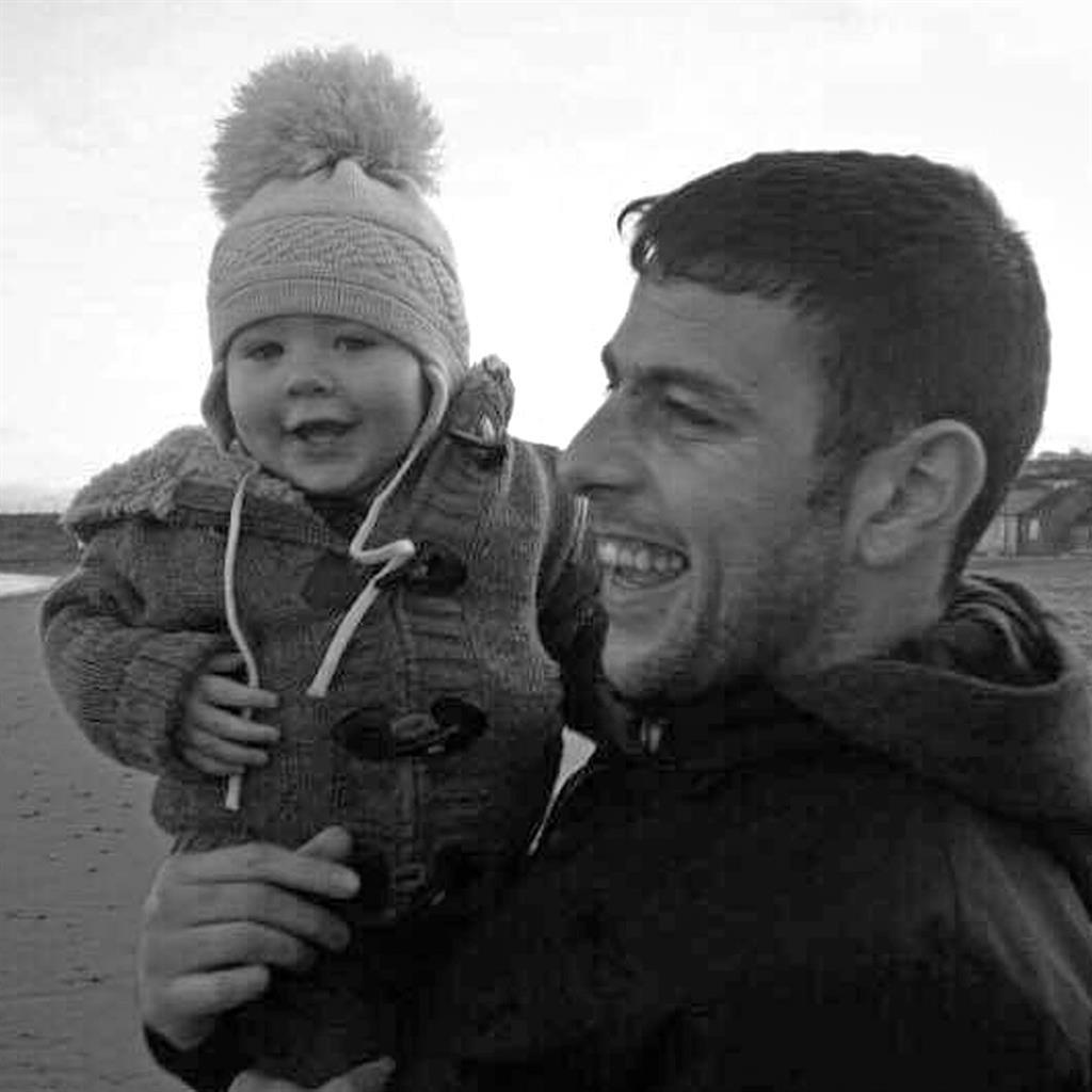 Still in his thoughts: Jase with dad James, who died in 2014
