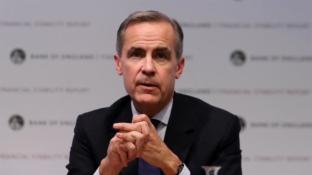 Grim analysis: Bank of England governor Mark Carney PICTURE: WPA/GETTY