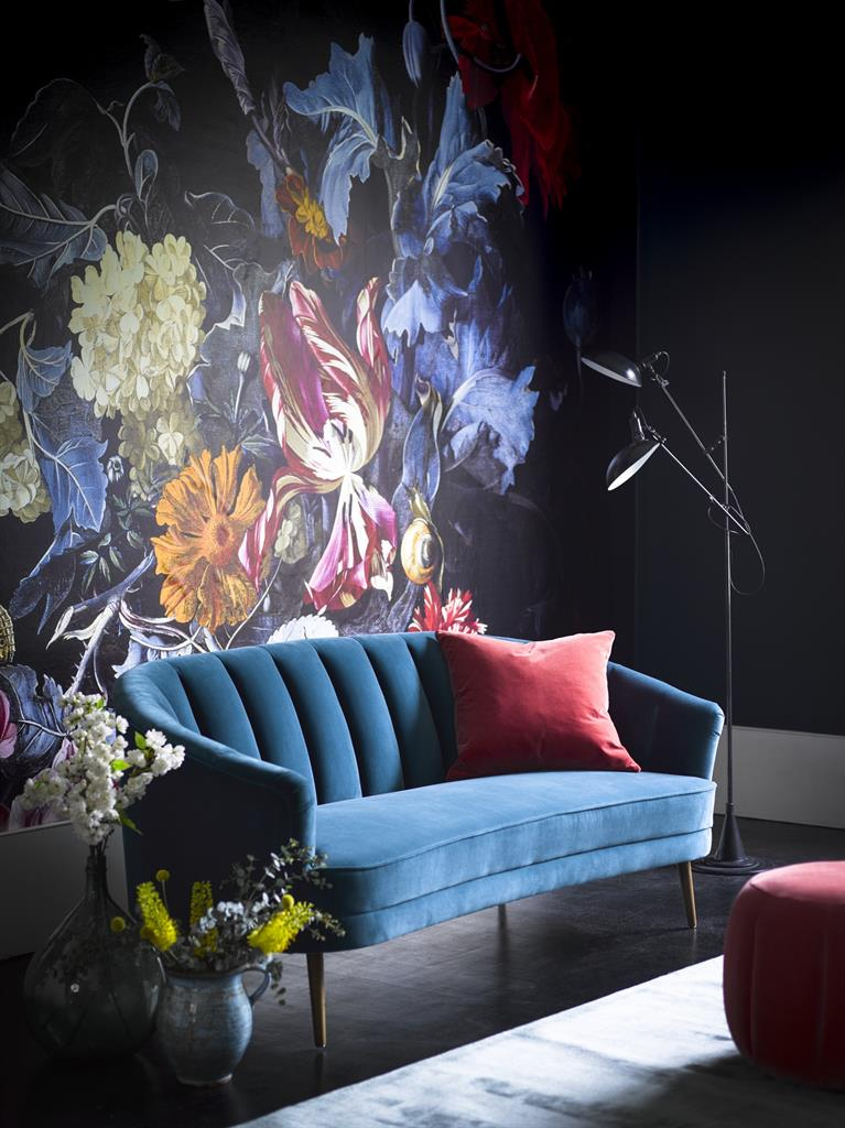 Get A Dash Of Art Deco Cool With The Harper Two And A Half Seater Sofa In  Deep Turquoise Cotton Matt Velvet. Delivered In Four Six Weeks. £1,500, Sofa .com