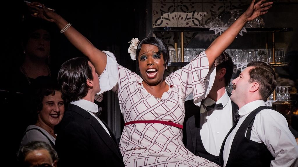 A rare treat: Nadine Benjamin gives a big performance as Musetta PICTURES: ROBERT WORKMAN