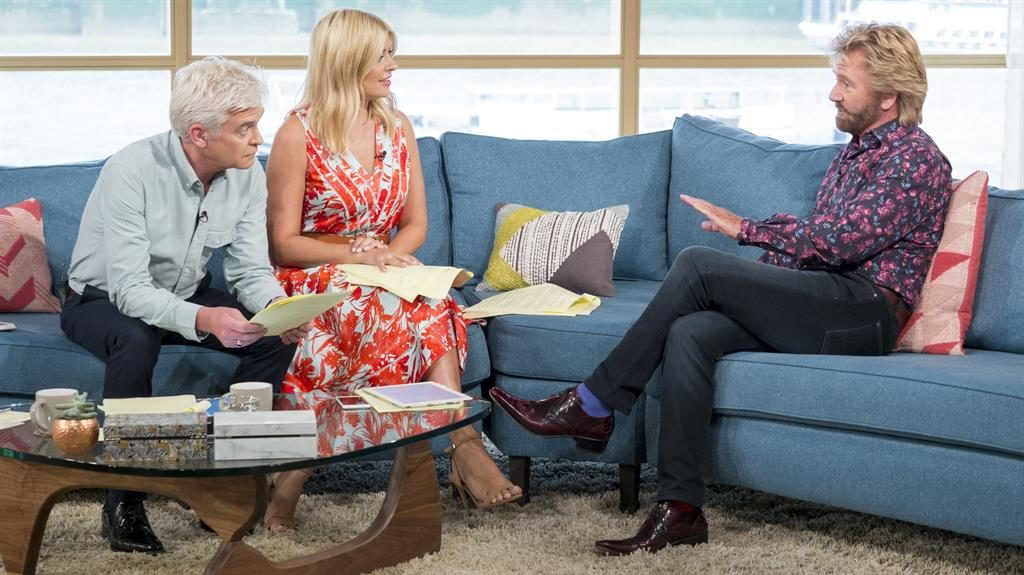 Telly spat Noel admits to a squabble with Holly