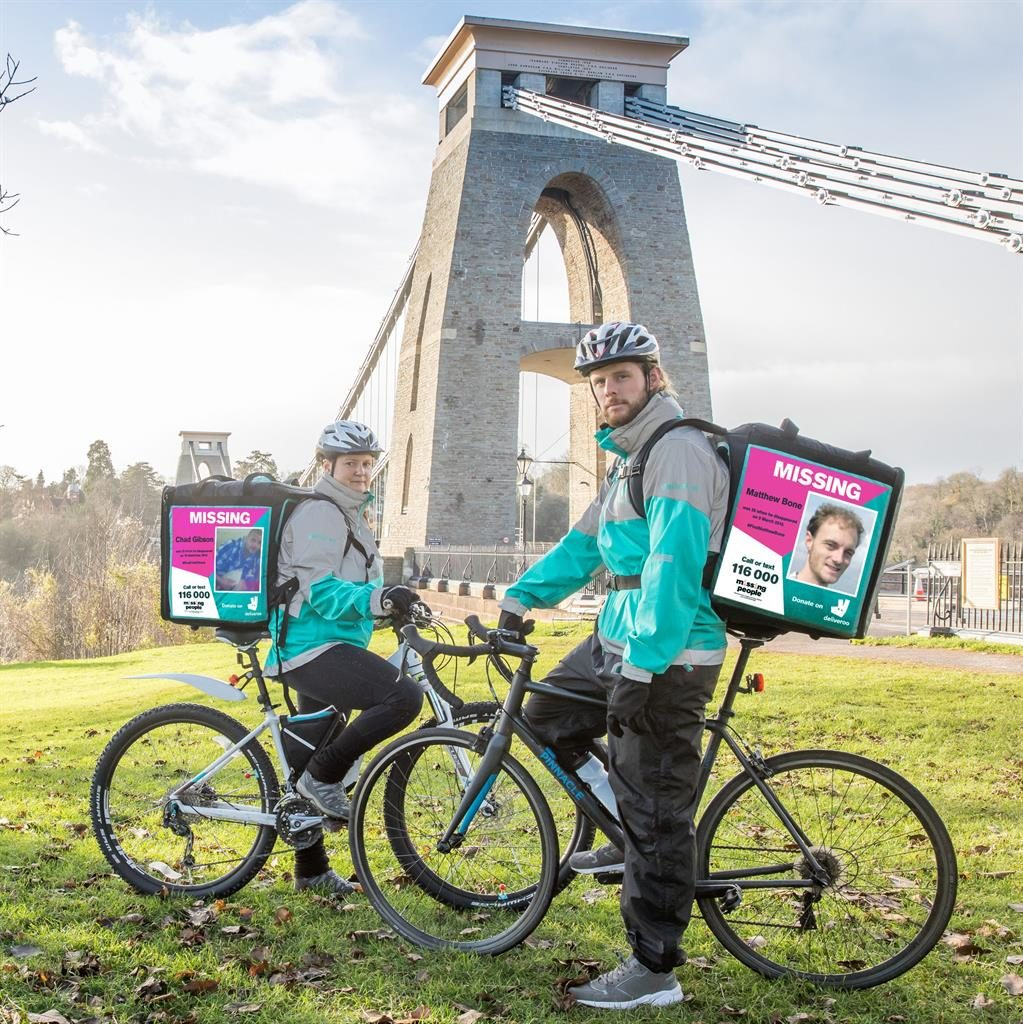 Missing people found in Deliveroo poster campaign | Metro