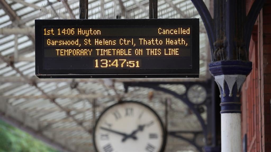 Meltdown: Train travellers across the country faced timetable chaos in May PICTURES: PA/REX