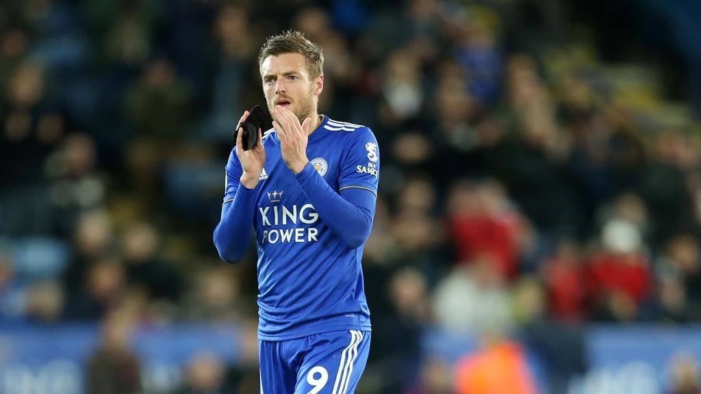 Leicester's Jamie Vardy a doubt for his Claudio Ranieri reunion			 				     by Jack Fox    Published