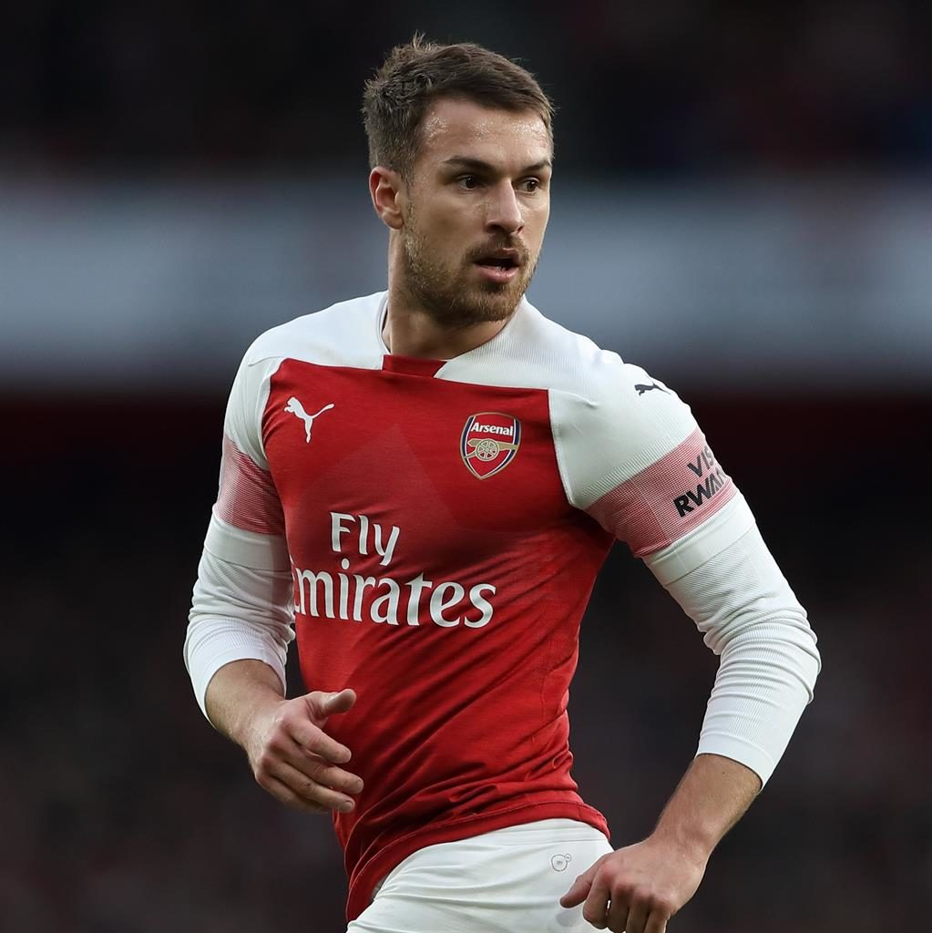 Positive role: Aaron Ramsey PICTURE: GETTY