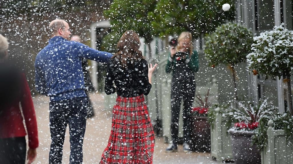 Prince William cheekily pokes fun at Catherine's Christmas style