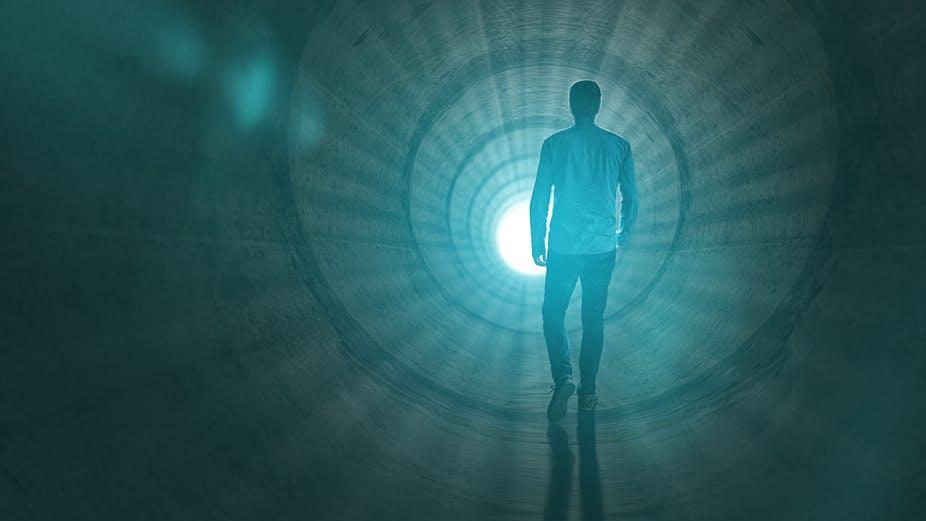 'Bright light': Seeing one is probably just your brain hallucinating PICTURES: SHUTTERSTOCK