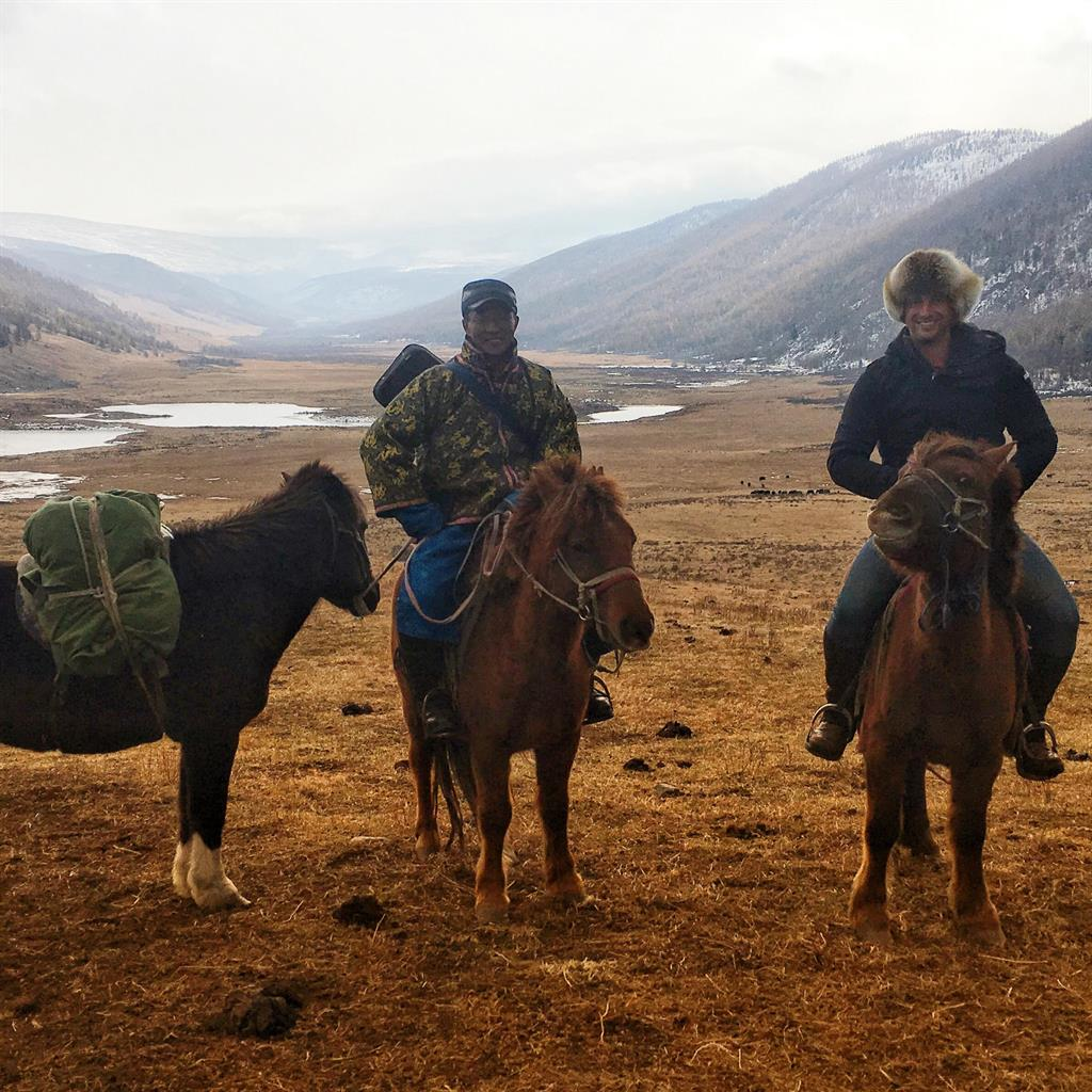 Into the wild: Horse riding in the Naiman Nuur region