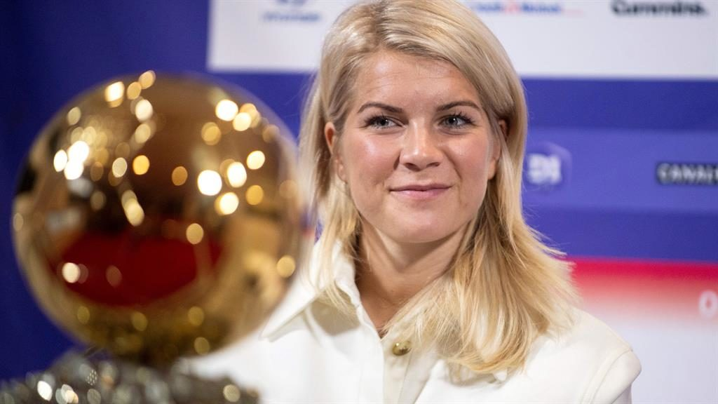 Superstar: Ada Hegerberg PICTURE: GETTY