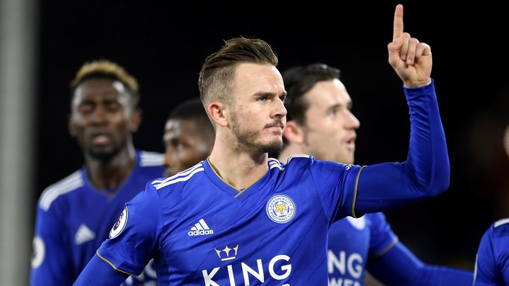 Level pegging: James Maddison PICTURE: PA