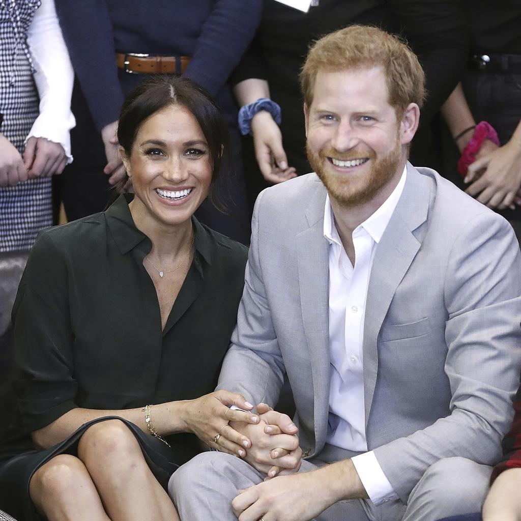 Symbol of unity: Harry made history by tying the knot with Meghan PICTURE: AP