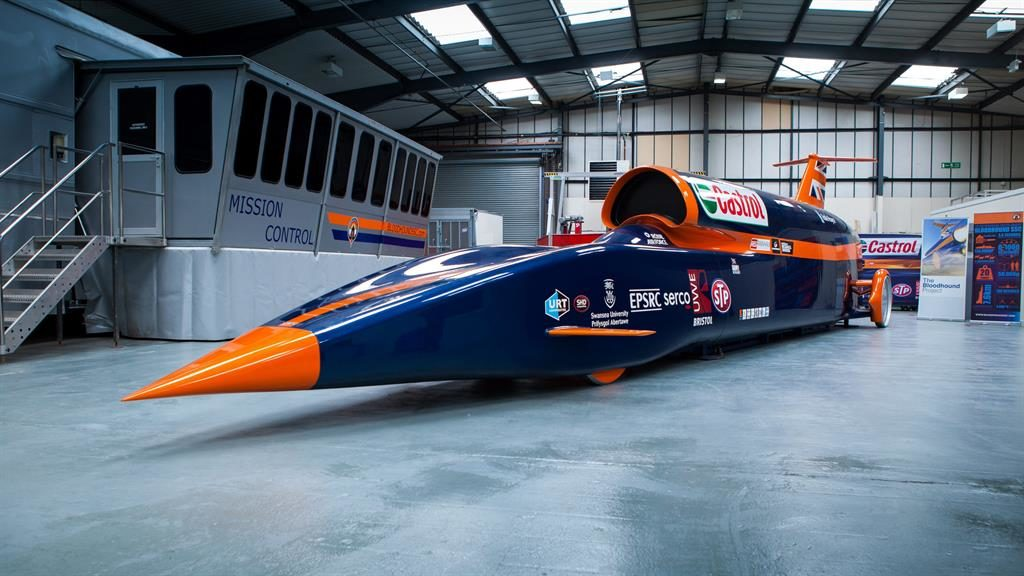 Bloodhound's 1000mph land-speed record bid scrapped after firm's collapse
