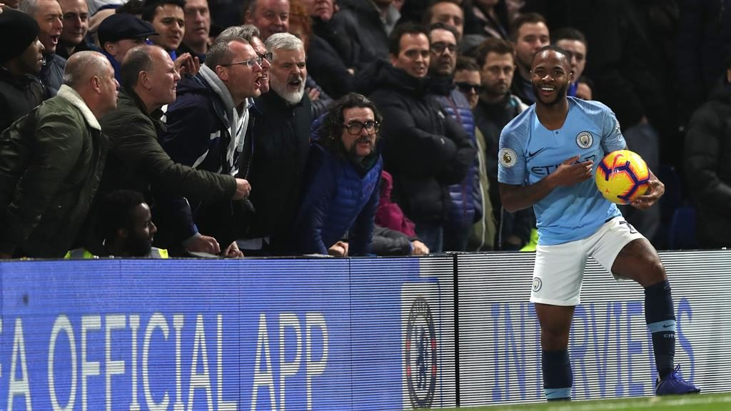 Sterling plea We need fairer coverage for black players demands Raheem			 				     by David Gurney    Published