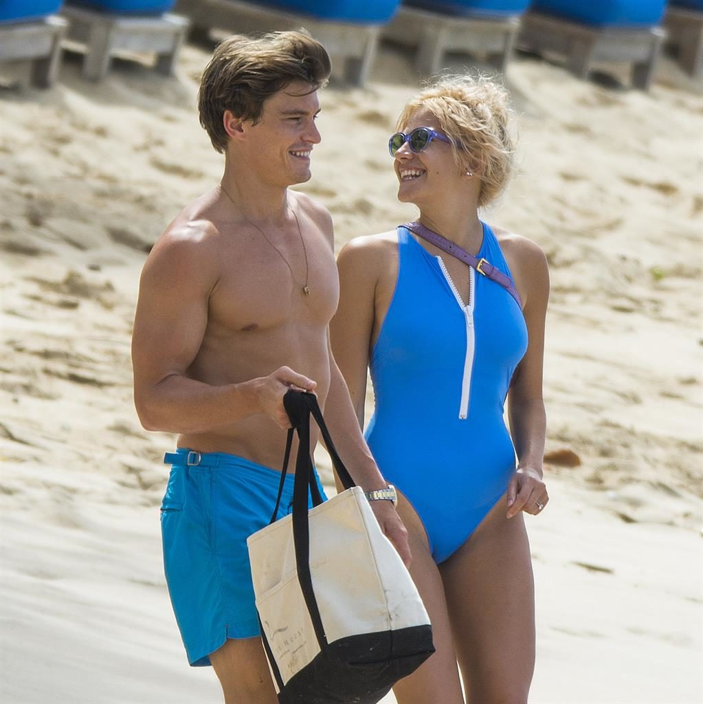 Pixie Hott: The singer and Oliver enjoy break in Barbados PICTURES: GOFF/INSTAGRAM
