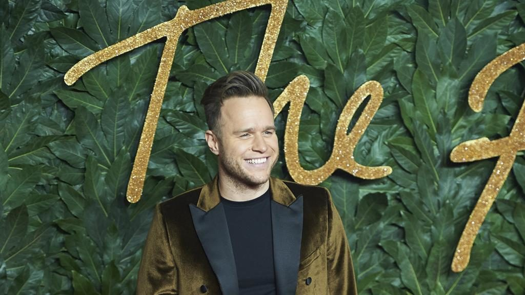 Man of the hour: Olly is set to star in his own TV show at the weekend PICTURE: EPA