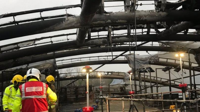Chester Zoo launches fundraising campaign after fire