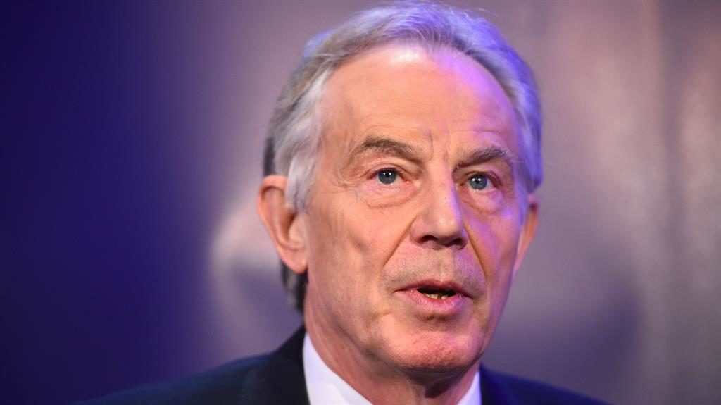 May clashes with Tony Blair