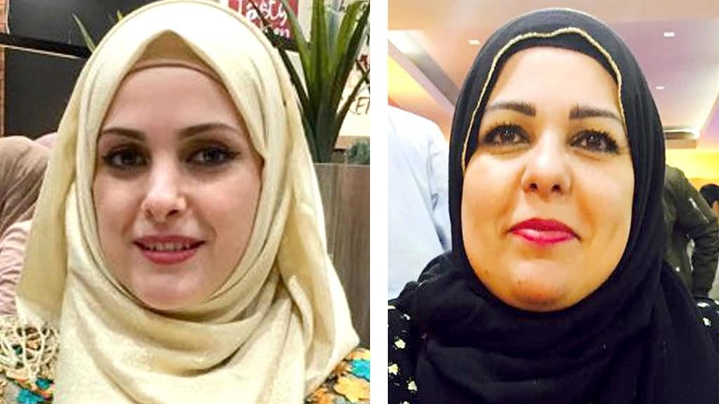 Killed: Raneem Oudeh (left) and her mother Khaola Saleem PICTURES: WEST MIDLANDS POLICE/PA