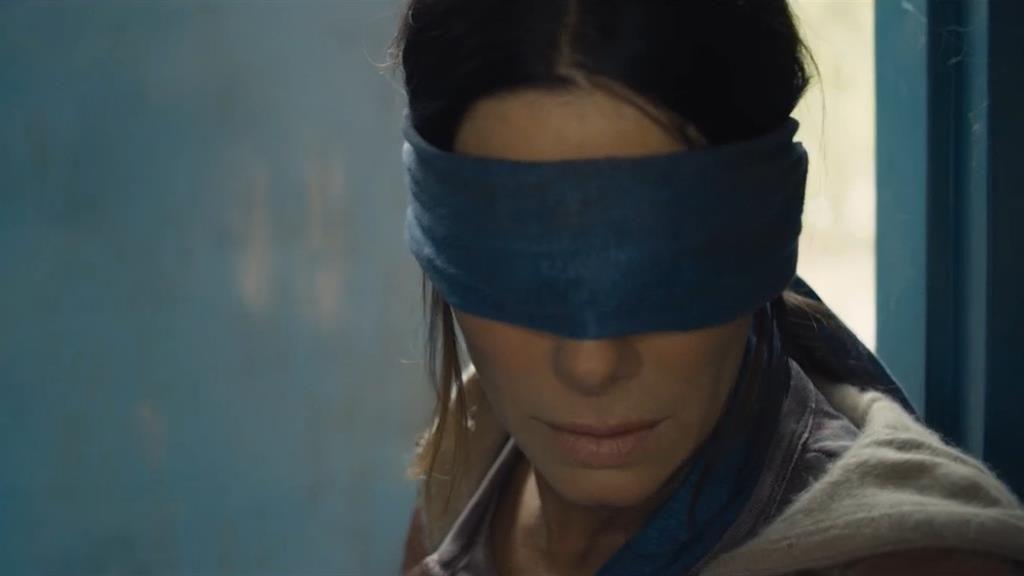 Sight for sore eyes: Sandra Bullock in Bird Box