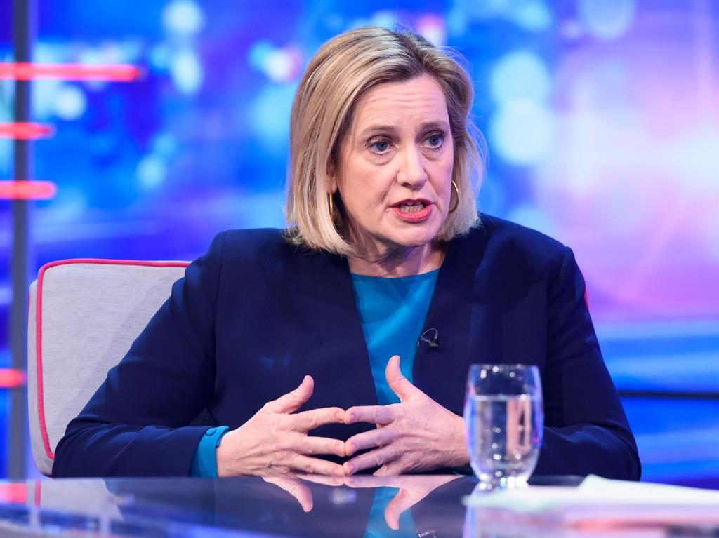 People power Amber Rudd told Robert Peston she could see 'a plausible argument' for a second referendum